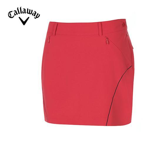 [캘러웨이]여성 컬러 라인 솔리드 큐롯 팬츠 CWPCG6561-500