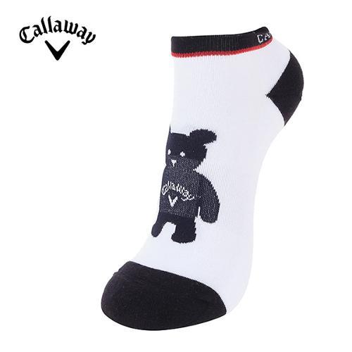[캘러웨이]18SS 여성 곰돌이 캐릭터 스니커즈 양말 CWASH5832-915