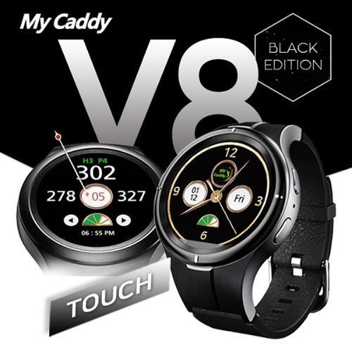 마이캐디 V8 MY CADDY WT V8 TOUCH 터치 풀칼라 스윙모션 GPS 거리측정기 골프용품 필드용품