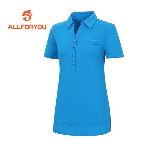 [올포유]여성 요크선 반팔 티셔츠 AWTYE6151-901