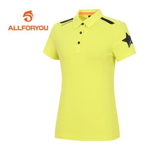 [올포유]여성 골프웨어 반팔 티셔츠 AWTYE6G25-818