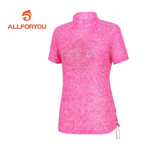 [올포유]여성 라셀 레이스 티셔츠 AWTHE6125-403