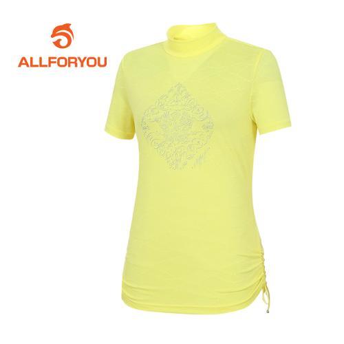 [올포유]여성 스트링 반팔 티셔츠 AWTHE6147-203
