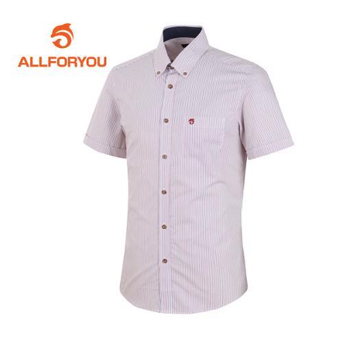 [올포유]남성 버튼다운 반팔 셔츠 AMBSE2661-500