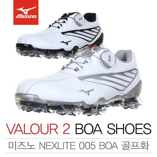 [2018년신제품]한국미즈노 VALOUR 2 BOA 벨로우 2 보아 남성용 골프화(51GM18350303/51GM18359191)