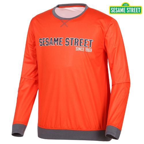 [세서미]남성 레터링 광택 티셔츠(S5SMWB903-OR)