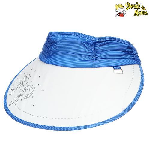 [데니스]여성 셔링배색 썬캡(DCMLCA935-BL)