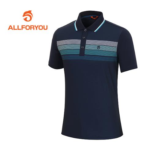 [올포유]남성 폴리스판 스트라이프 티셔츠 AMTPF2105-915
