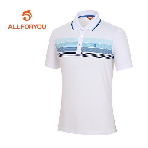 [올포유]남성 폴리스판 스트라이프 티셔츠 AMTPF2105-100