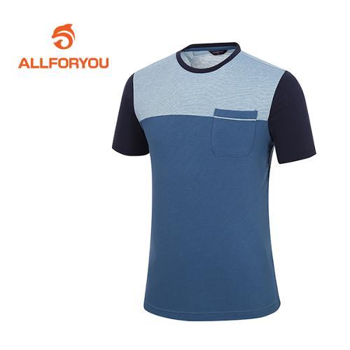 [올포유]남성 톤인톤 배색 티셔츠 AMTRF2186-906