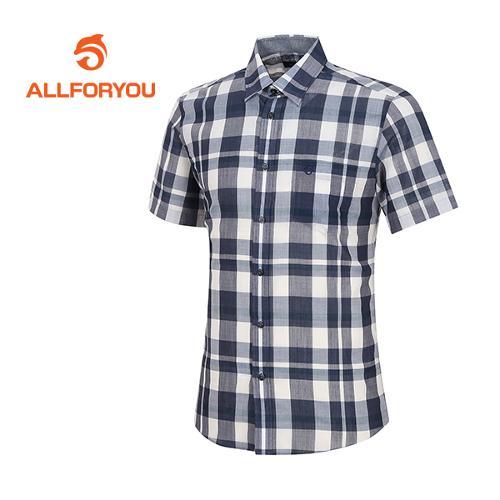 [올포유]남성 쿨 체크 셔츠 AMBSF2659-915