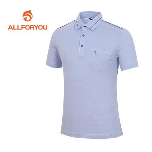[올포유]남성 코튼 혼방 절개 배색 티셔츠 AMTYF2161-906