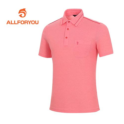 [올포유]남성 코튼 혼방 절개 배색 티셔츠 AMTYF2161-500