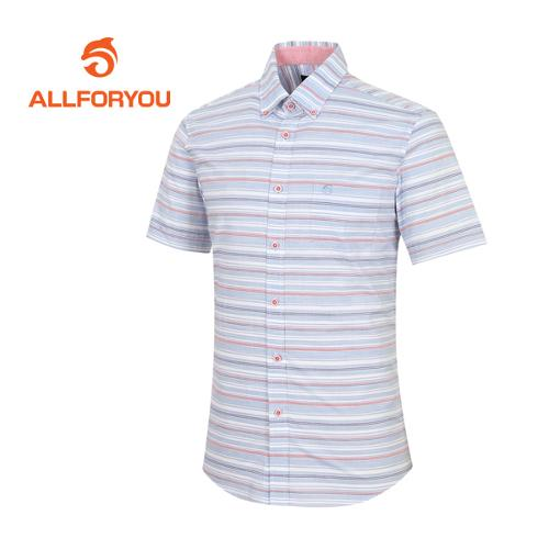 [올포유]남성 스트라이프 반팔 셔츠 AMBSF2661-906