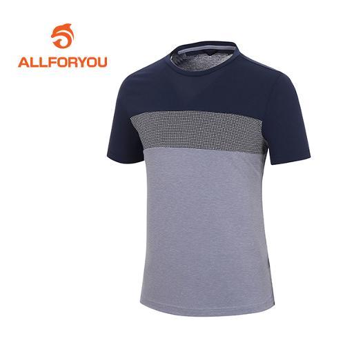 [올포유]남성 단가라 라운드 티셔츠 AMTRF2185-915