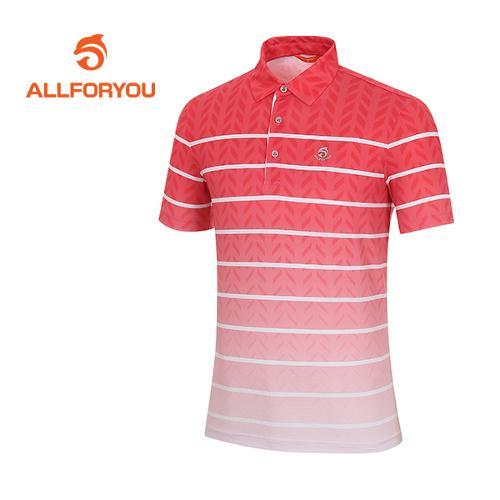 [올포유]남성 그라데이션 단가라 티셔츠 AMTYF2115-500