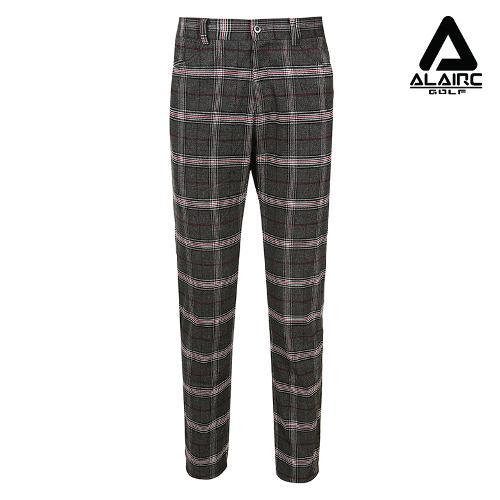 [알레어 골프] 남성 체크 클래식 시크 팬츠(AMB1PT101-BK)