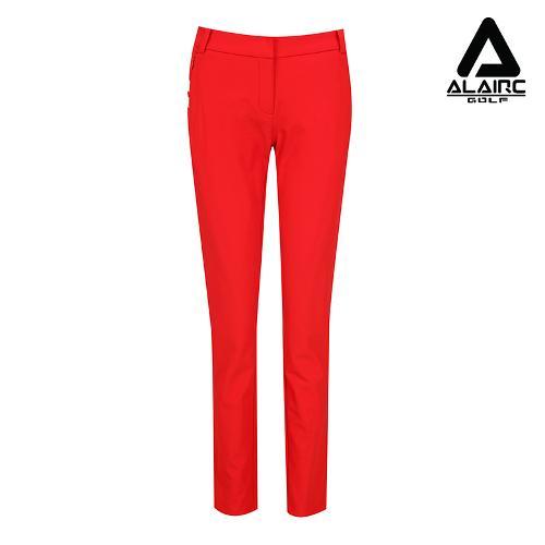 [알레어 골프] 여성 사선 배색 심플 팬츠(AFB3PT106-RE)
