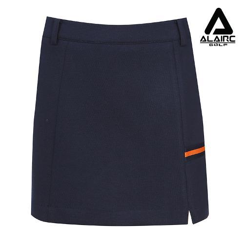[알레어 골프] 여성 배색 포인트 심플 스커트(AFB3QC105-NY)