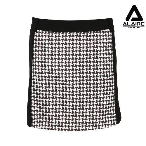 [알레어 골프] 여성 하운드 패턴 스커트(AFB3QC108-BK)