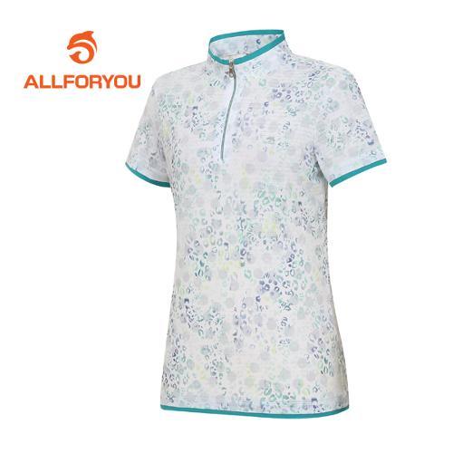 [올포유]여성 호피 반팔 티셔츠 AWTHF6117-804