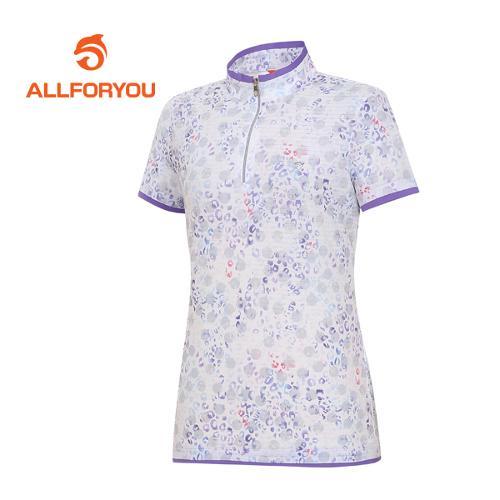 [올포유]여성 호피 반팔 티셔츠 AWTHF6117-604