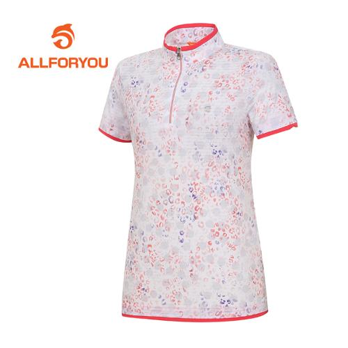 [올포유]여성 호피 반팔 티셔츠 AWTHF6117-500