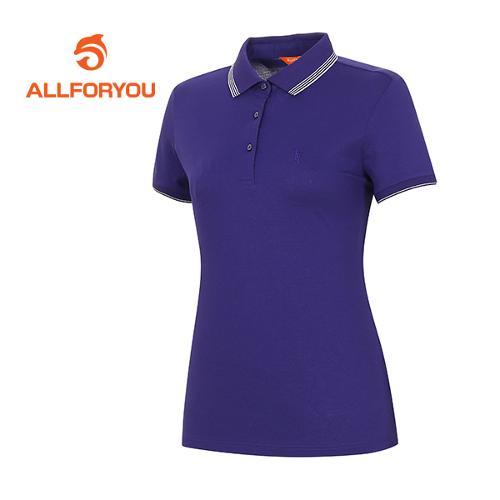 [올포유]여성 피케 메탈 포인트 티셔츠 AWTPF6106-607