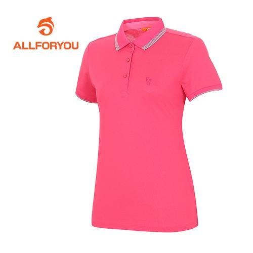 [올포유]여성 피케 메탈 포인트 티셔츠 AWTPF6106-403