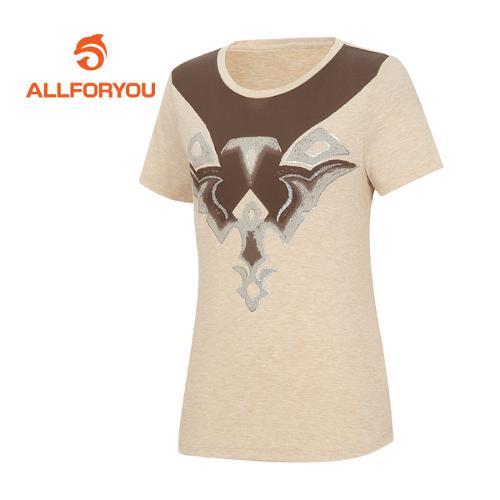 [올포유]여성 카치온 티셔츠 AWQTF6192-509
