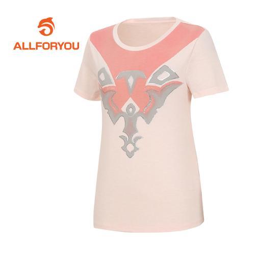 [올포유]여성 카치온 티셔츠 AWQTF6192-403