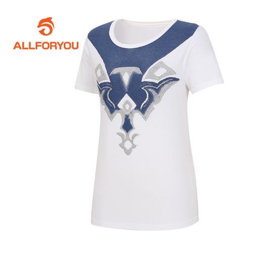 [올포유]여성 카치온 티셔츠 AWQTF6192-100