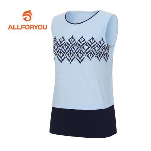 [올포유]여성 에스닉 티셔츠 AWTSF6155-920