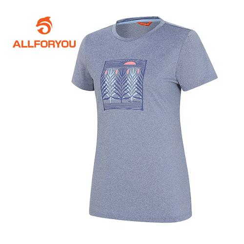 [올포유]여성 모티브 티셔츠 AWTRF6132-906