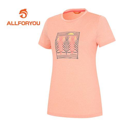 [올포유]여성 모티브 티셔츠 AWTRF6132-304