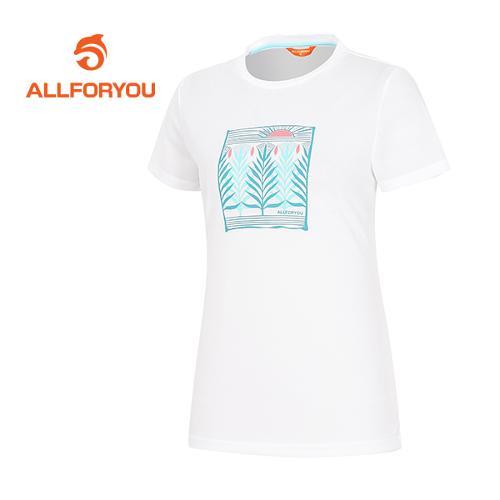 [올포유]여성 모티브 티셔츠 AWTRF6132-100