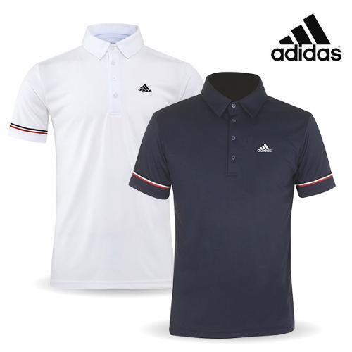 [아디다스 골프] 2018 퓨어모션 남성용 티셔츠 CJ0915, CJ0916
