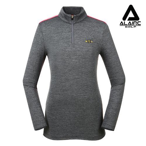 [알레어 골프] 여성 양면 배색 반짚업 티셔츠(AFB3TP114-CGR)
