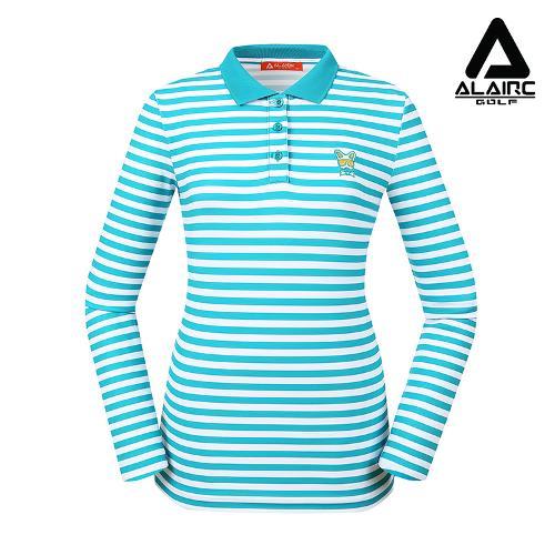 [알레어 골프] 여성 스트라이프 베이직 카라티(AFB3TT204-MT)
