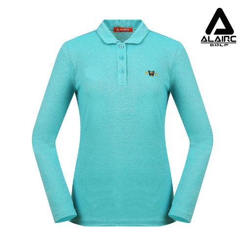 [알레어 골프] 여성 펄 솔리드 카라 티셔츠(AFB3TY313-MT)