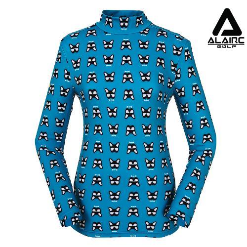 [알레어 골프] 여성 캐릭터 프린팅 터틀넥 티셔츠(AFB3TP101-JD)