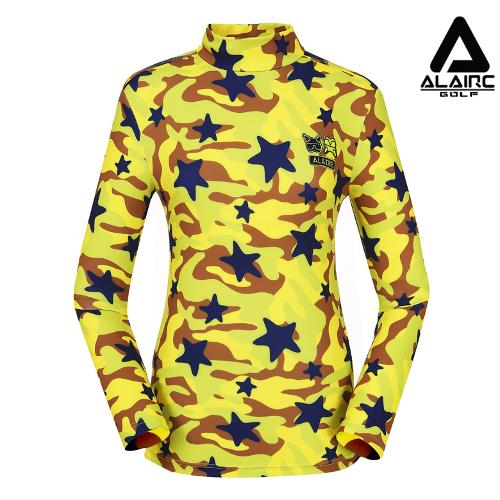 [알레어 골프] 여성 밀리터리 터틀넥 티셔츠(AFB3TU501-LI)
