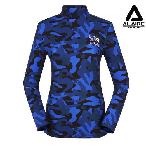 [알레어 골프] 여성 밀리터리 터틀넥 티셔츠(AFB3TU501-RBL)