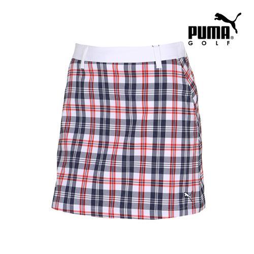 [푸마골프] 여성 Check 패턴 스커트 92357603_GA