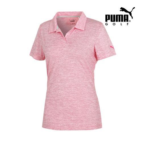 [푸마골프] 여성 Space Dye PK 반팔 티셔츠 57372102_GA
