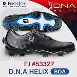 풋조이 FJ DNA HELIX BOA 53327 골프화 남성 블랙