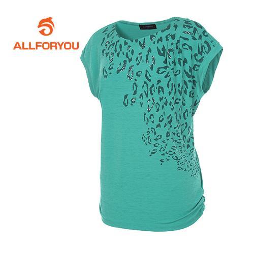 [올포유]여성 레오파드 민소매 티셔츠 AWTRD6154-804