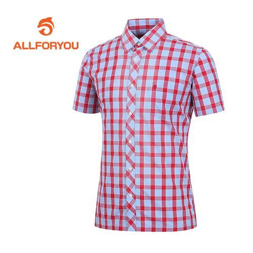 [올포유]남성 컬러 체크 패턴 셔츠 AMBSD2679-500