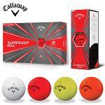 사은품(새볼2피스12알)+슈퍼핫볼드 골프공 3피스 15알-캘러웨이