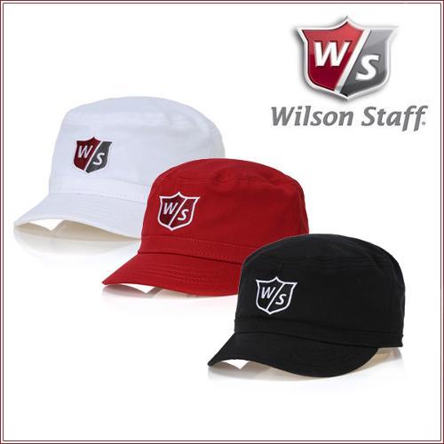 윌슨 스테프 WILSON STAFF 남녀공용 면스판소재 자수로고 군모스타일 엔지니어 모자 - WGH3400